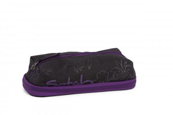 Satch Pen Box Purple Hibiscus
