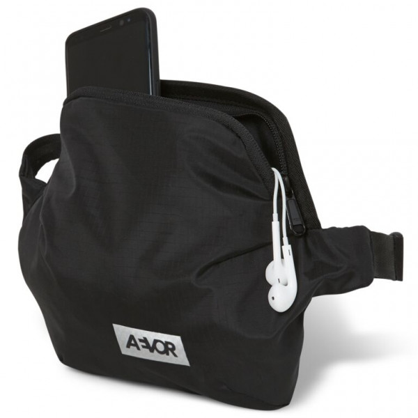 AEVOR Hip Bag Plus Ripstop Black