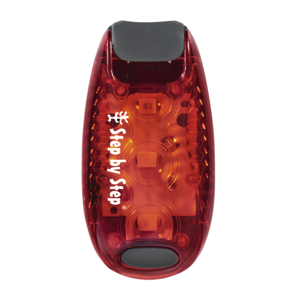LED-Sicherheits-Klemmleuchte Rot