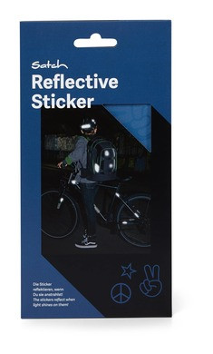 Satch Reflektive Sticker Blue