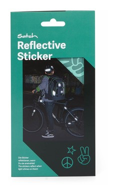 Satch Reflektive Sticker mint