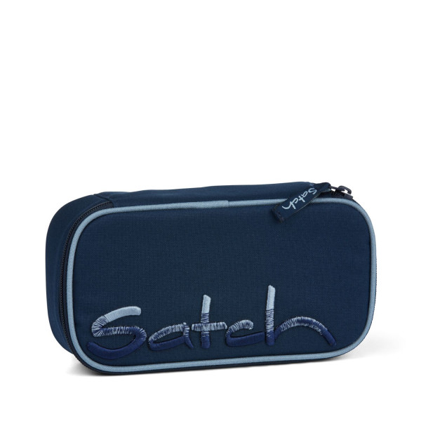 Satch Schlamperbox Solid Blue