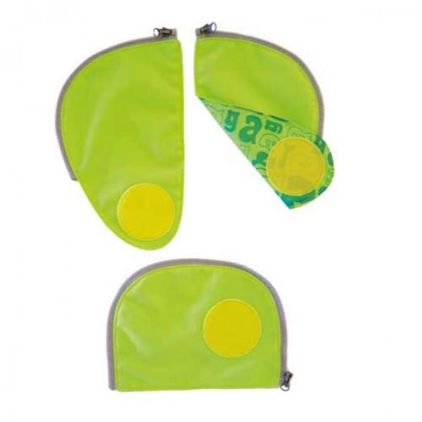 Ergobag Cubo Sicherheitsset grün