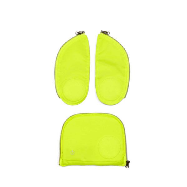 Ergobag cubo + pack LED Zip-Set gelb ab Mod. 20