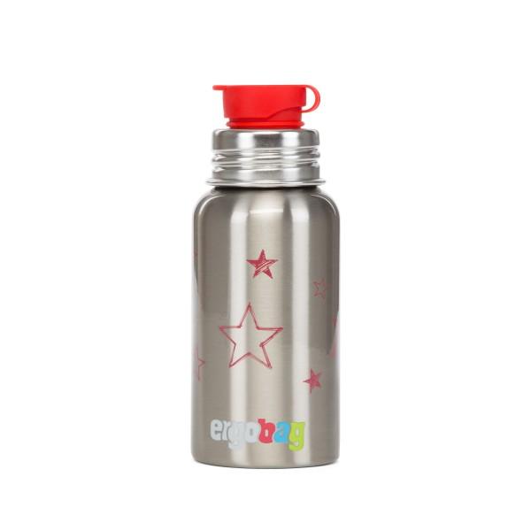 Ergobag Edelstahl Trinkflasche Sterne