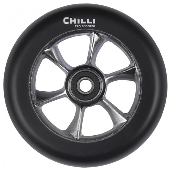 Chilli Wheel Turbo 110mm Black/Raw