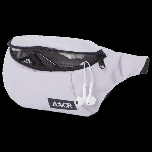 AEVOR Hip Bag Soft Lilac 100% rec.PET