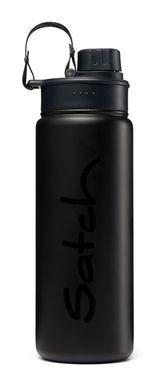Satch Edelstahl Trinkflasche Black