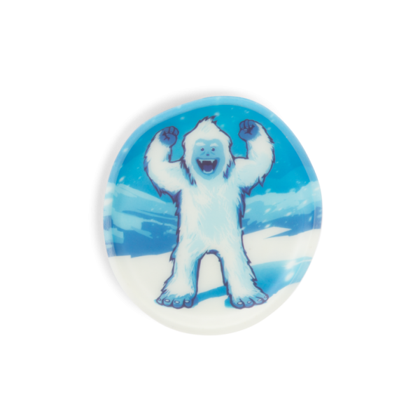 Glow in the Dark Klettie (1-tlg.) Yeti