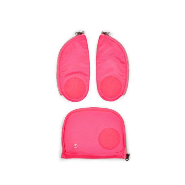 Ergobag cubo + pack LED Zip-Set pink ab Mod. 20