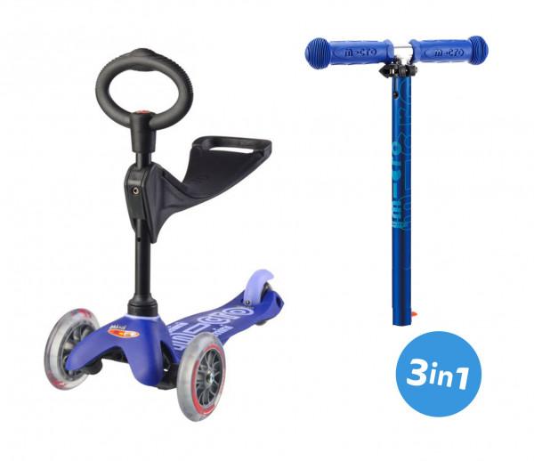 Mini Micro Deluxe 3in1 Blau