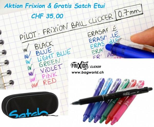 SATCH Gratis Case und 6 Frixion Ball TOPAKTION