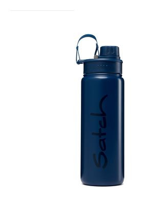 Satch Edelstahl Trinkflasche Blue