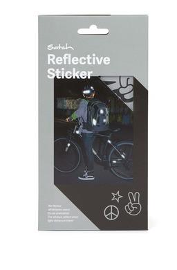Satch Reflektive Sticker silber