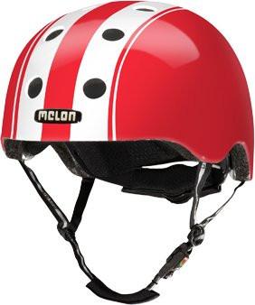 Melon Helm Double white red M-L