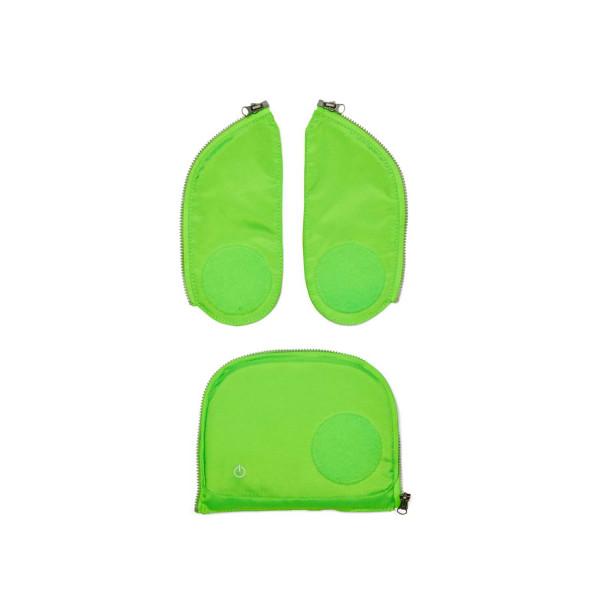 Ergobag cubo + pack LED Zip-Set grün ab Mod. 20
