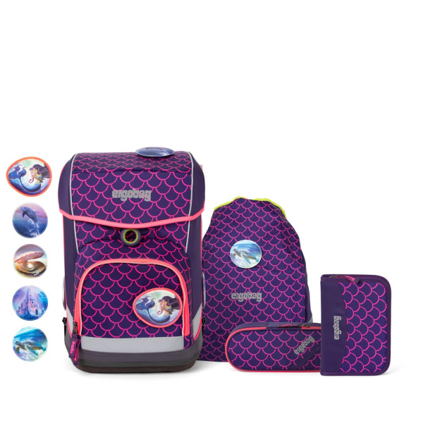 Ergobag Cubo Light Lumi Edition PerlentauchBär (5-tlg)