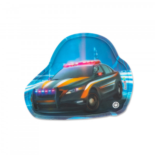 LED Klettie Polizeiauto